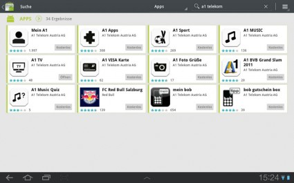 Samsung Galaxy Tab 10.1 Android Honeycomb Tablet - Screenshot (C) A1