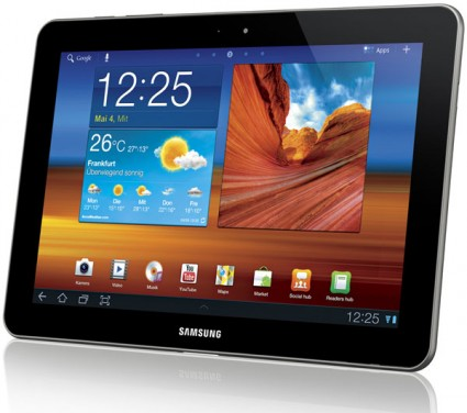 Samsung Galaxy Tab 10.1 Android Honeycomb Tablet - Foto (C) Samsung