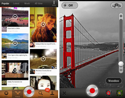 Klip Video Sharing App für Android und fürs iPhone