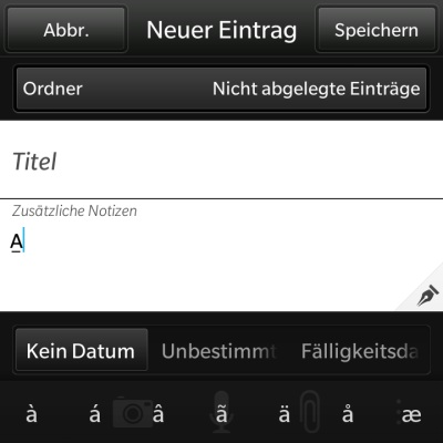 Etrading mobile blackberry z10 umlaute