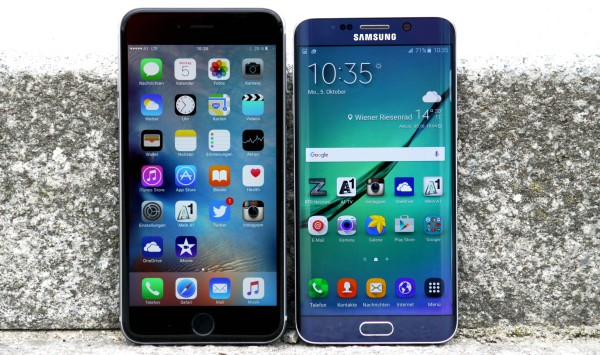 Kameravergleich Samsung Galay S6 edge+ versus iPhone 6s Plus