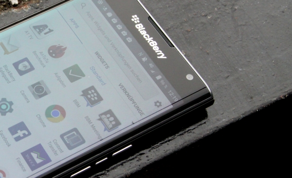 BlackBerry Priv Software