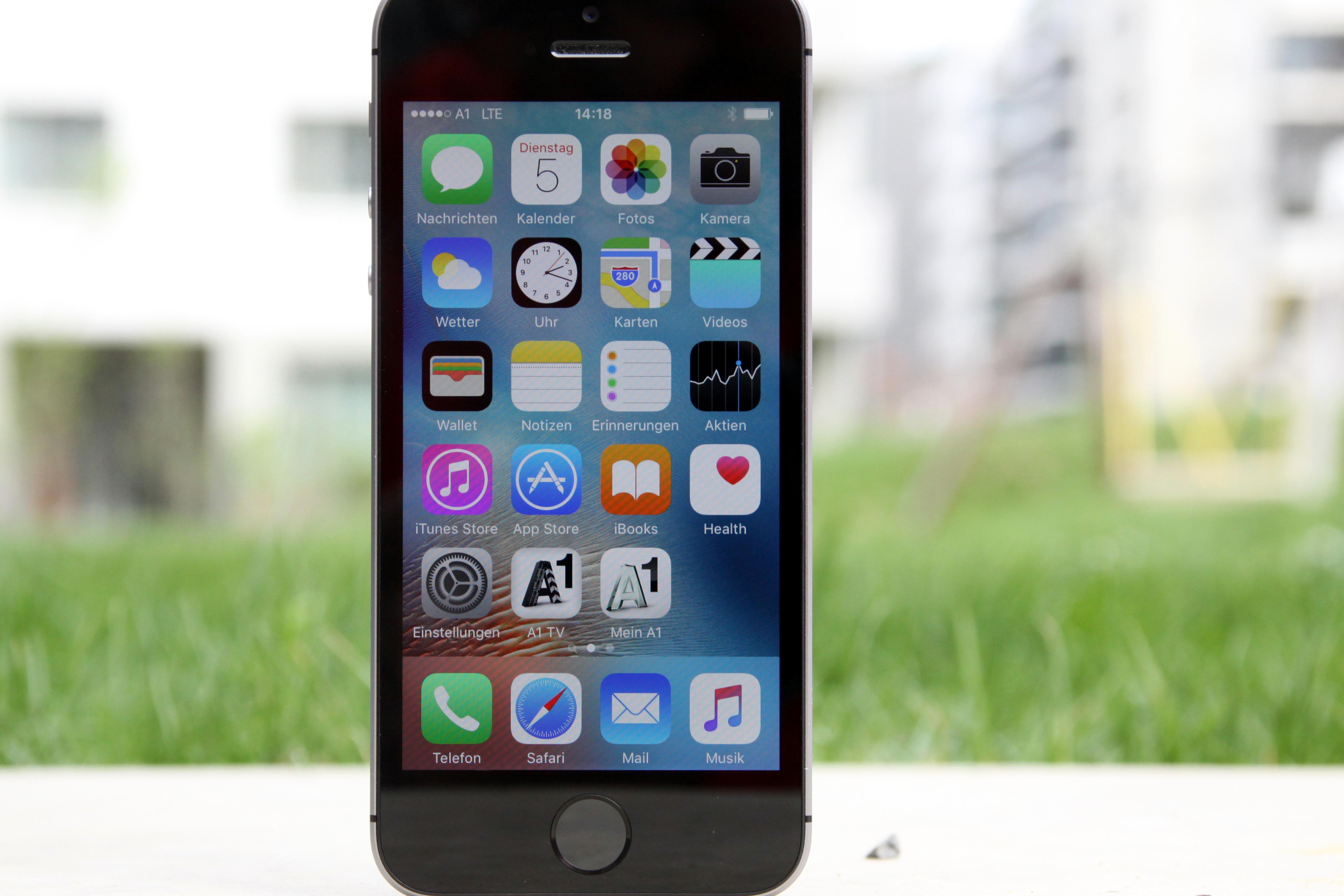 Iphone Se Im Test Klein Aber Fein A1blog