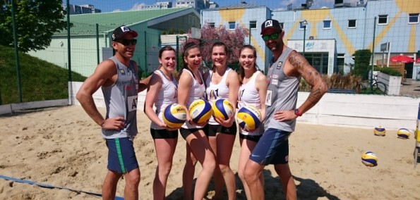A1 One! Home - Beachvolleyball mit Doppler/Horst