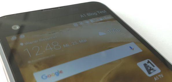 LG X-Screen Test