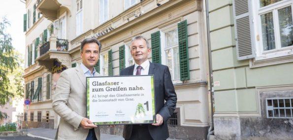 Breitband-Ausbau in Graz