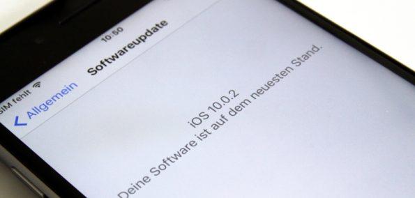 iOS 10.0.2 Update
