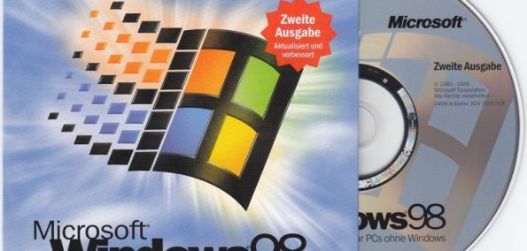 Windows-98-Betriebssystem