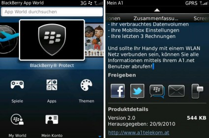 RIM BlackBerry App World 3.0 Update - Screenshots (C) A1