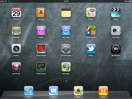 Apple iPad 2 im Test - Screenshot (C) A1
