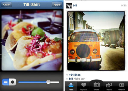 Instagram fürs Apple iPhone