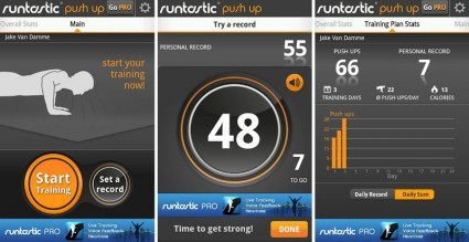 runtastic Push-Up App für Android