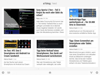 Google Currents für Android Smartphones / Tablets und iPhone / iPad