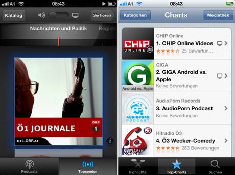 Apple Podcast App fürs iPhone & iPad