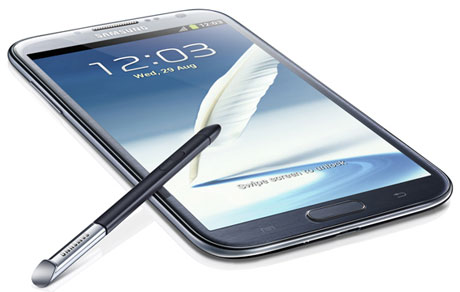 Samsung Galaxy Note II Android-Smartphone - Foto © Samsung