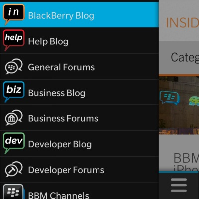 BlackBerry Community App