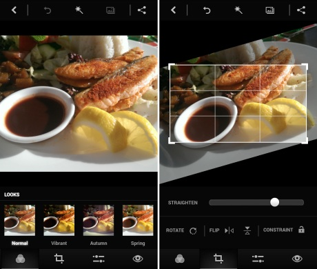 Adobe Photoshop Express Android-App - Foto © Helmut Hackl