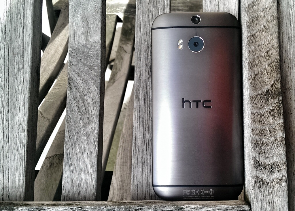 HTC One M8 Android Smartphone - Foto © Helmut Hackl