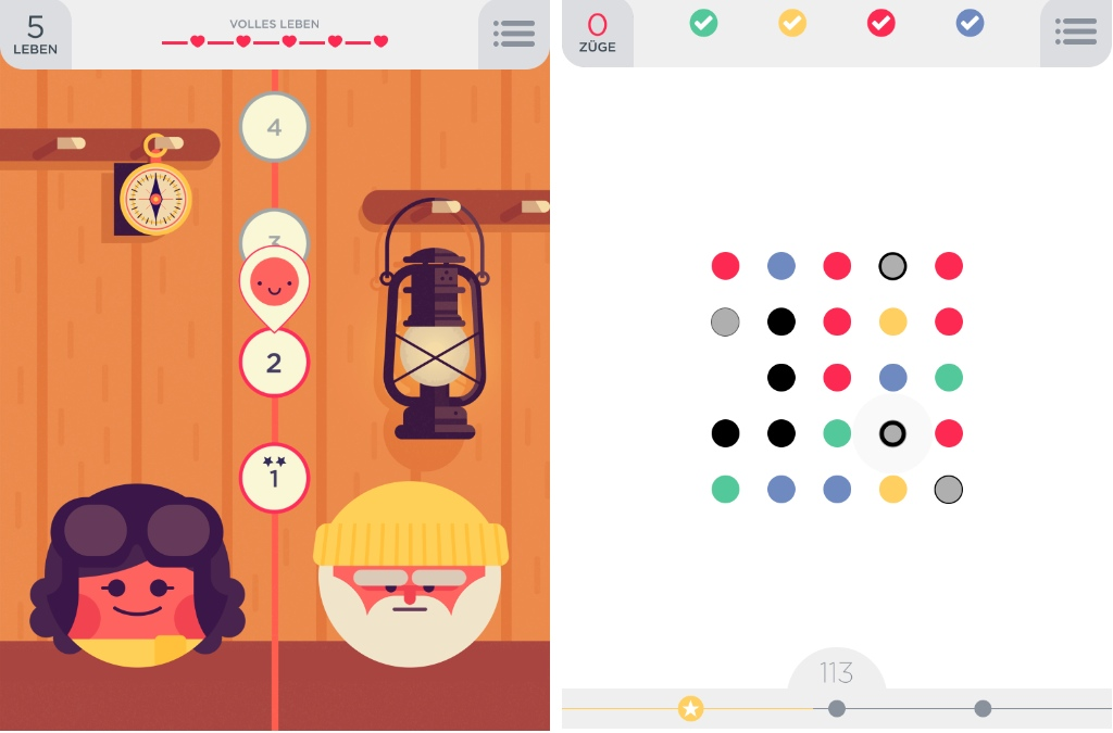 Two Dots für iPhone & iPad
