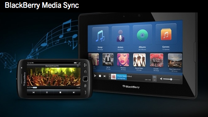 BlackBerry Desktop Software 6.0 mit Media Sync - Foto © BlackBerry