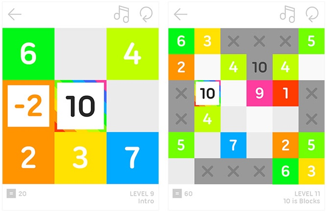 10 Puzzle Game für Android & iOS