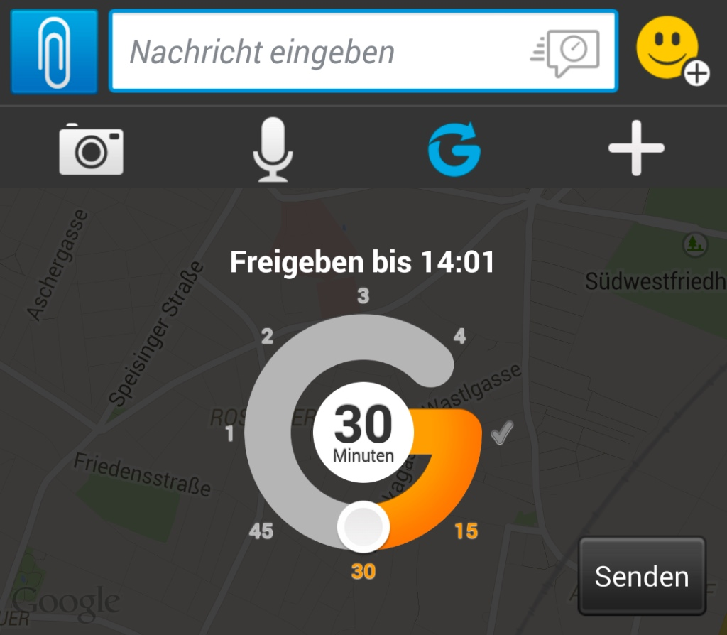 BlackBerry Messenger - BBM & Glympse Realtime Location Sharing