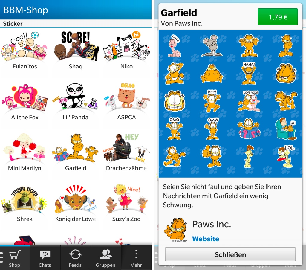 Blackberry Messenger Tipp Unterhaltsame Sticker Furs Chatten A1blog