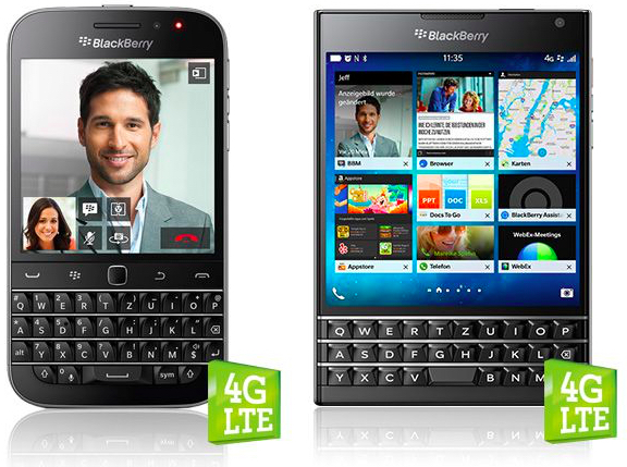 BlackBerry Classic & Passport - Foto © BlackBerry | A1