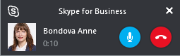Skype for Business Call Monitor