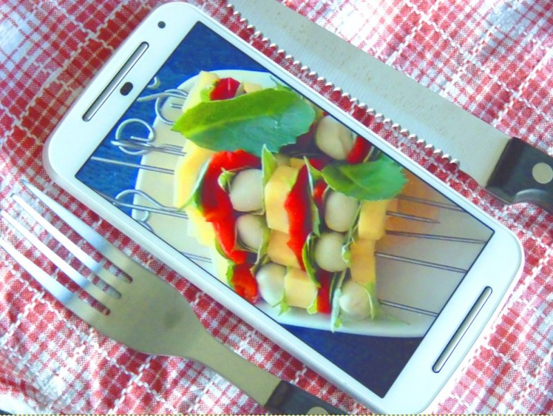 A1 Blog Smartphone Grillparty