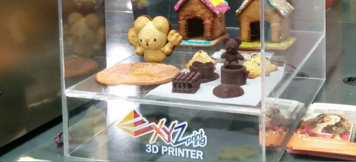 IFA 2015 Berlin 3D Food Printer