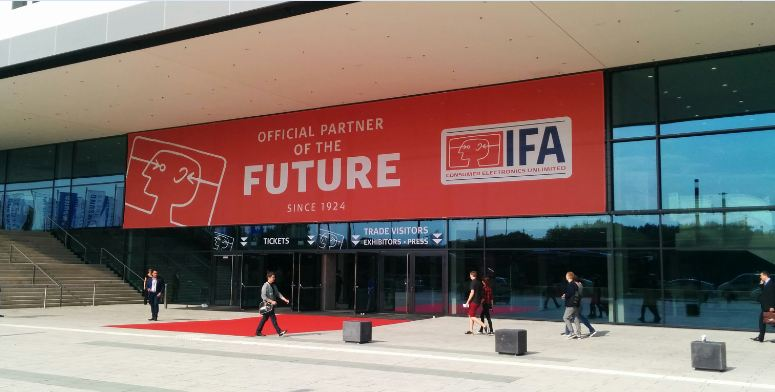 IFA 2015 Messehalle in Berlin