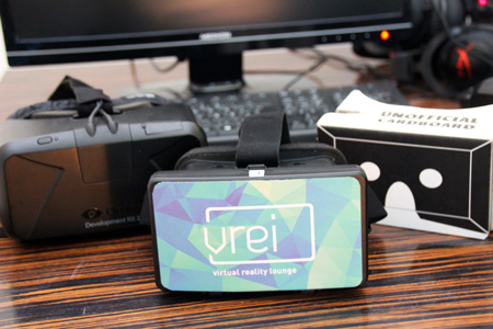 Virtual Reality Cardboards im Vrei