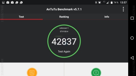 BlackBerry Priv AnTuTu Test Benchmark