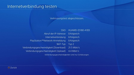 Playstation NAT Typ testen