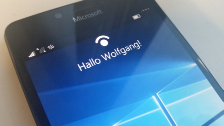 Windows Hello Iris Scanner
