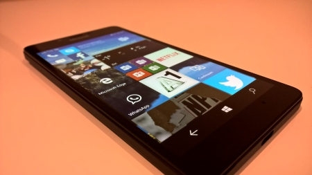 Microsoft Lumia 950 Energie Display Modus