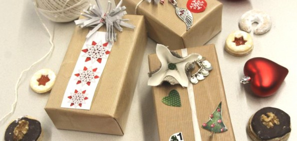 Do it yourself Xmas Giftwrappings
