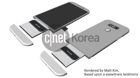 LG G5 Design MWC