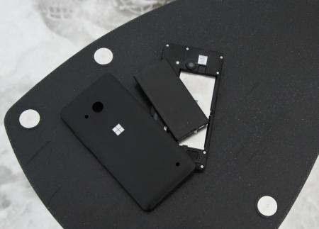 Microsoft Lumia 550 Rückseite Akku