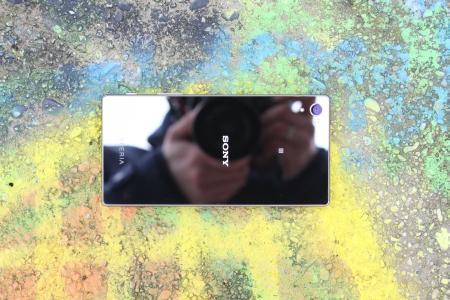 Sony Xperia Z5 Premium Rückseite