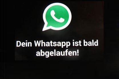 WhatsApp Mehrwert Abo Falle am Smartphone