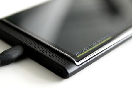 BlackBerry Priv Ladestand Akku sparen