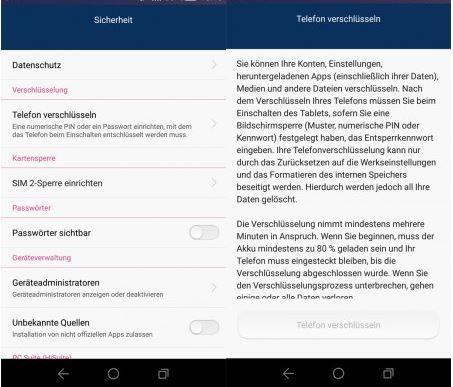 Datenschutz und Datensicherheit am Smartphone