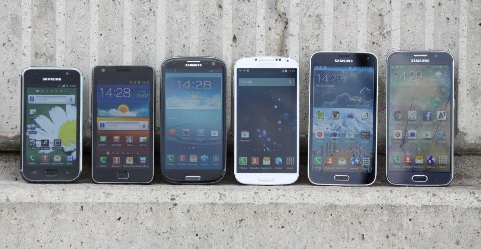 Samsung Galaxy S Reihe