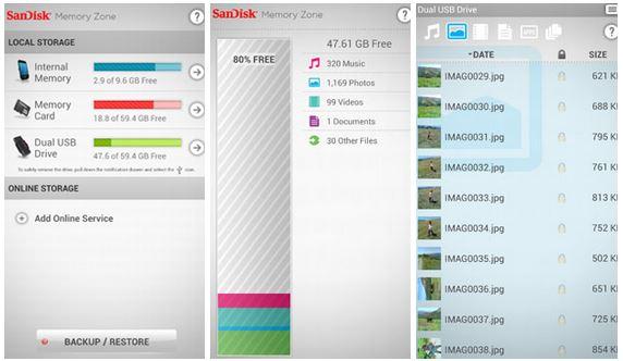 Sandisc App