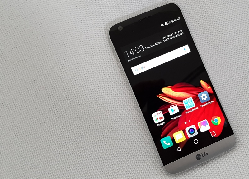 LG G5 Preview Test Hands On