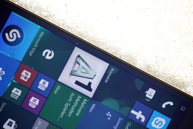 Lumia 650 Test Display