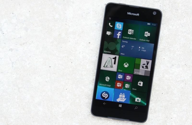 Lumia 650 Design Aussehen Test