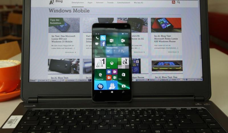 Microsoft Lumia 650 Test Vergleich